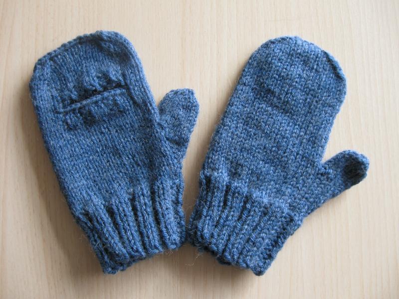 comment tricoter des moufles pour hommes